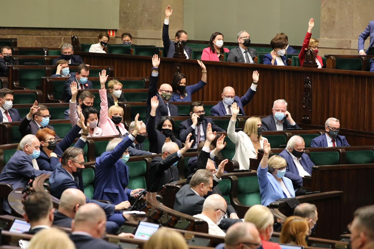 sejm głosowanie kpo - Kancelaria Sejmu