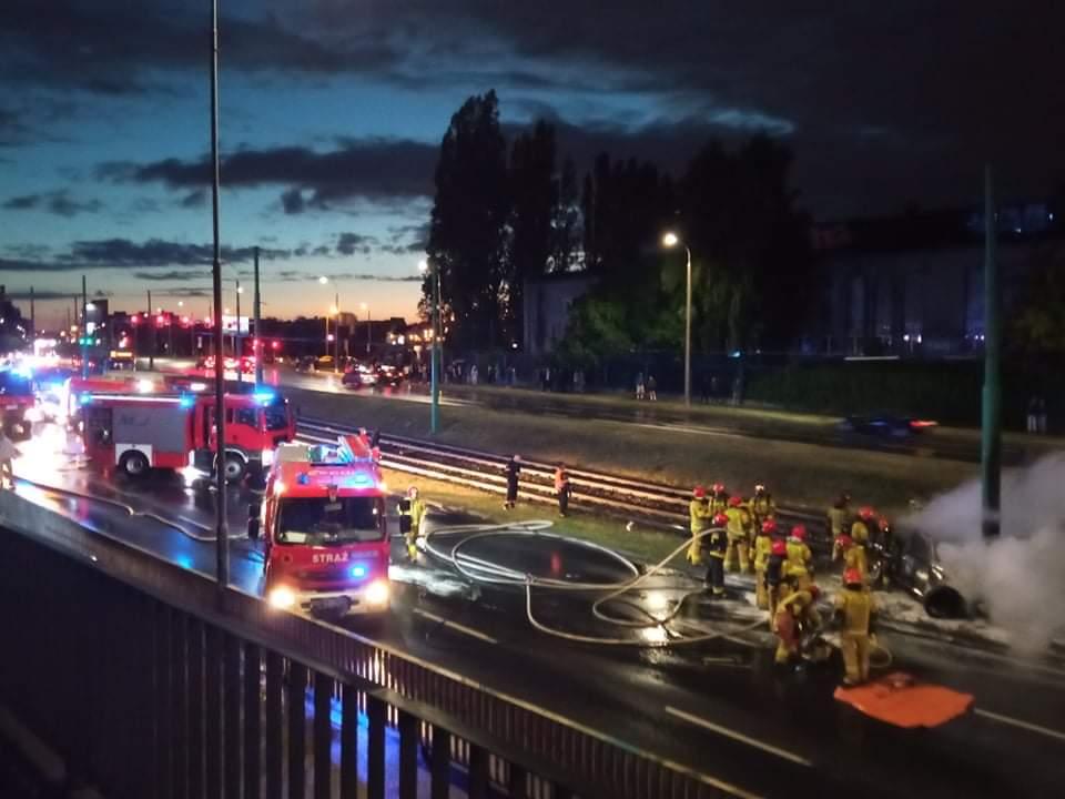wypadek hetmańska pożar - Oleksii Sokun