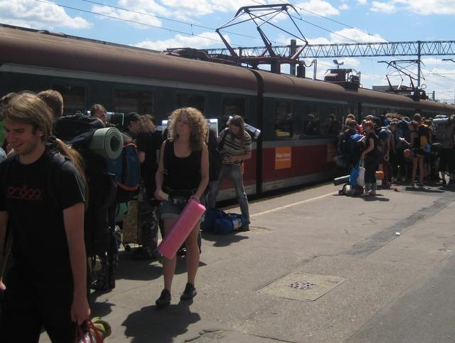 Pociąg na Woodstock - Anna Skoczek