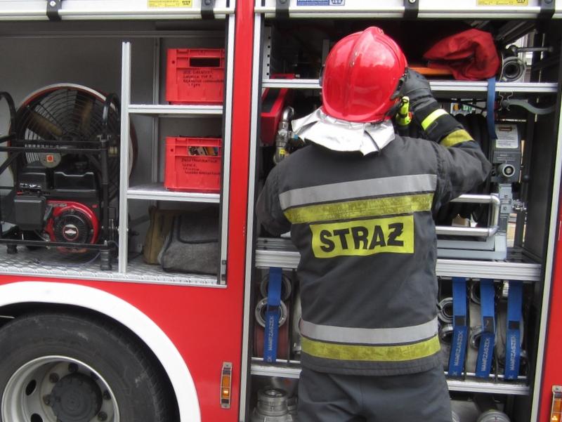 akcja strażaków, ewakuacja ludzi, ćwiczenia - Radio Merkury