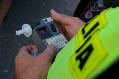 badanie alkomatem - Policja Leszno